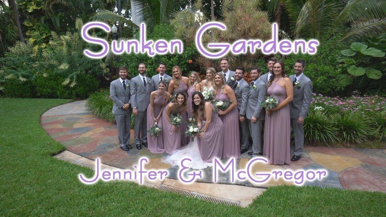 Sunken Gardens Wedding.Full Wedding At Sunken Gardens