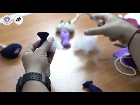 การเย็บตุ๊กตารูปสัตว์