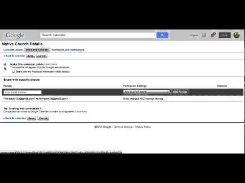 How to get Google Calendar Feed URL