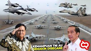 PENJAGA UDARA WILAYAH NKRI.!! Inilah Daftar Lengkap Kekuatan TNI Angkatan Udara Republik Indonesia
