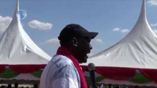 Tharaka MP Mburi Muiru promises the locals to deliver title deeds