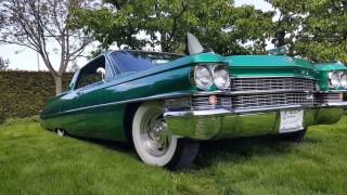 Cadillac  De Ville ZIELONY-okiem ślubnym