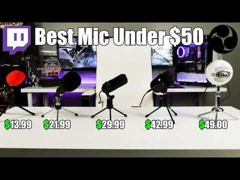 Best Mic For Streaming/Recording Under $50 On Amazon!