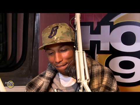Pharrell Willams opens up on his relationship on The Angie Martinez Show