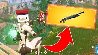 DIE NEUE LEGENDÄRE FORTNITE SHOTGUN in Fortnite Battle Royale