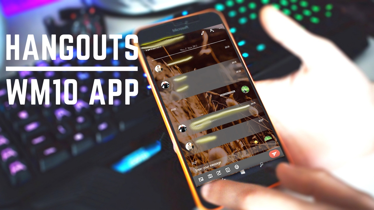 Google hangouts client for windows phone 8 - Google Hangouts Client For Windows Phone 8 42