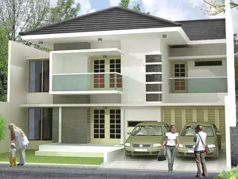 model rumah minimalis atap cor yg sedang trend saat ini