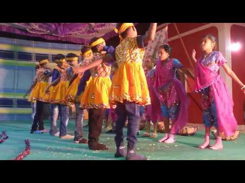TRADITIONAL DANCE BY ST.STEPHEN ENGLISH MEDIUM SCHOOL AG ST.STEPHEN  SCHOOL AGASWAN ON ANNUAL DAY