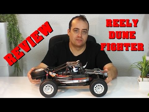 Reely Dune Fighter - REVIEW TEST - 1:10 brushless Rail Cage Käfig Buggy - Darconizer RC