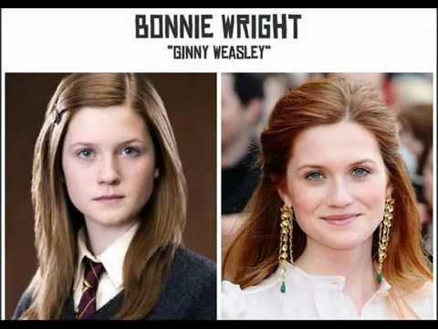 Personagens de Harry Potter descaracterizados