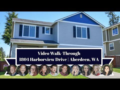 1804 Harborview Drive   Aberdeen, WA   Video Walk-Through