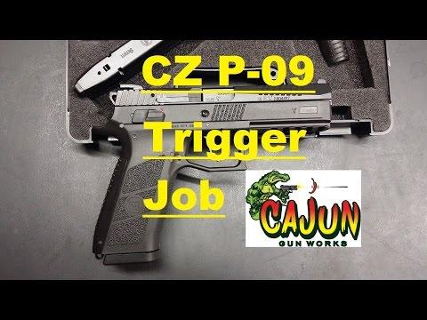 CZ P-09 Cajun Gunworks Trigger job - CZ-USA