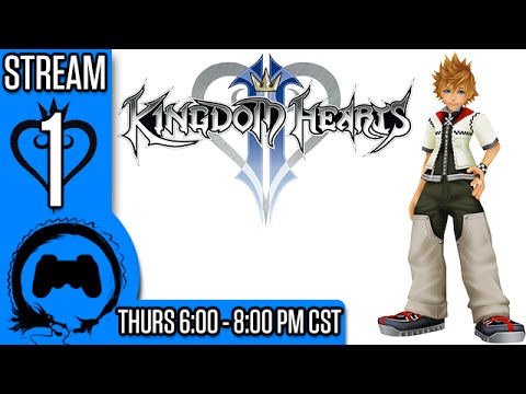 KINGDOM HEARTS 2 Part 1 - Stream Four Star - TFS Gaming