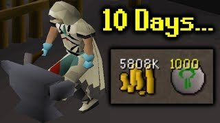 10 Days and 58,000 Mithril Bars... (UIM #26)