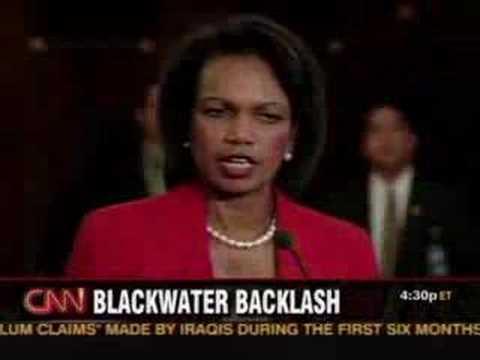 Blackwater Mercenaries Back on the Job in Baghdad