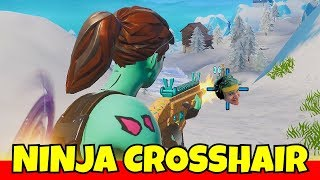 i-used-a-custom-ninja-crosshair-in-fortnite-cheating