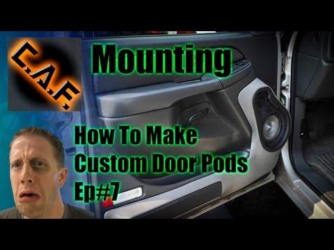 Fiberglass Door Panels Pods -  Video Step 7 Mounting
