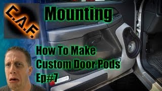 Fiberglass Door Panels Pods -  Video Step 7 Mounting
