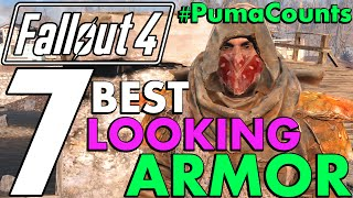 Top 7 Coolest and Best Looking Armor, Apparel and Outfits in Fallout 4 #PumaCounts