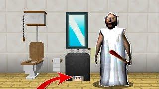 KORKUNÇ BÜYÜKANNE'DEN SAKLANIYORUM! 😱 - Minecraft
