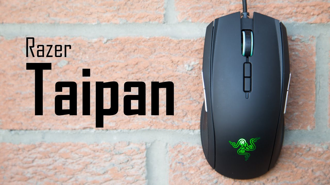 1af3606beeb Razer Taipan Gaming Mouse Review | Great Ambidextrous Alternative ...