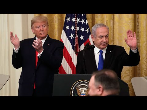 video: Donald Trump releases plan to radically expand Israel's territory and offer Palestinians only chance of statehood