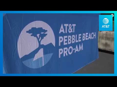 It's AT&T's influencers at AT&T Pebble Beach Pro-Am
