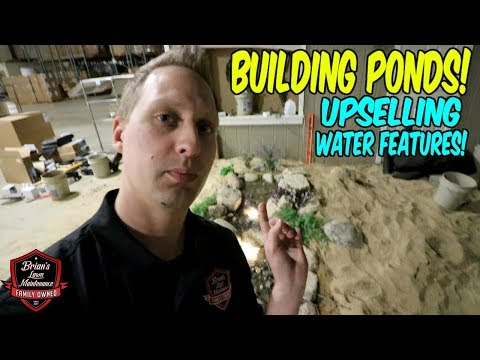 getting dirty installing ponds and learning about water features at aquascape w the pond guy