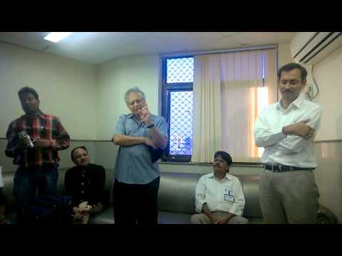 Training of teachers in Allen: Author Shiv Khera says, to be consecrated Pramod Mewara