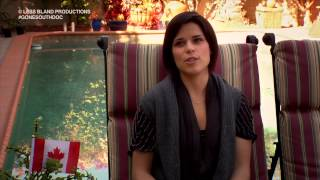 Gone South - Neve Campbell - Auditioning in Canada vs the US