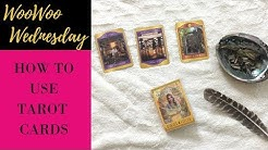How to Use TAROT Cards // Woo Woo Wednesday // Amanda Henley