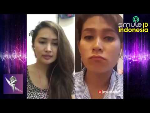 KEREN, MERDU DUET RATU SMULE INDONESIA !!! Ikke Putri ft. Melinda Rasya – Nasib Bunga