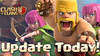 NEW UPDATE IS OUT! UPDATE NOW CLASH OF CLANS 2018•FUTURE T18
