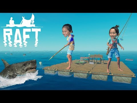 3 SURVIVORS...1 RAFT...VAST OCEAN...MAN-EATING SHARKS! 🦈 / Raft: Episode #1
