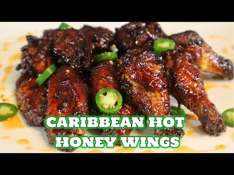 hot-honey-caribbean-jerk-chicken-wings-in-the-oven- -march-madness-munchies