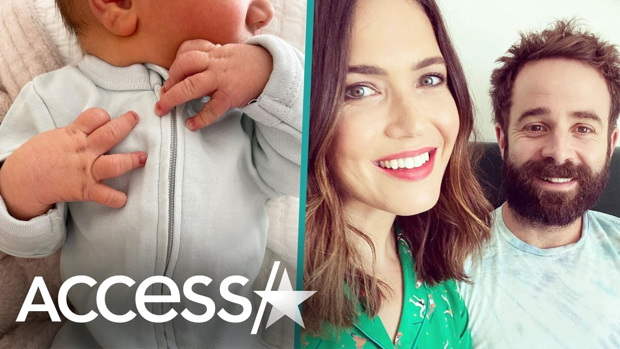 Mandy Moore welcomes baby boy with husband Taylor Goldsmith ...