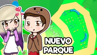 ESPERANDO EL NUEVO PARQUE DE MASCOTAS EN ADOPT ME ROBLOX CON @Chocoblox