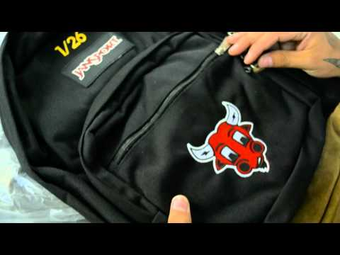 """Limited Edition Jansport TUC """"Oushi"""" Backpacks HD"""