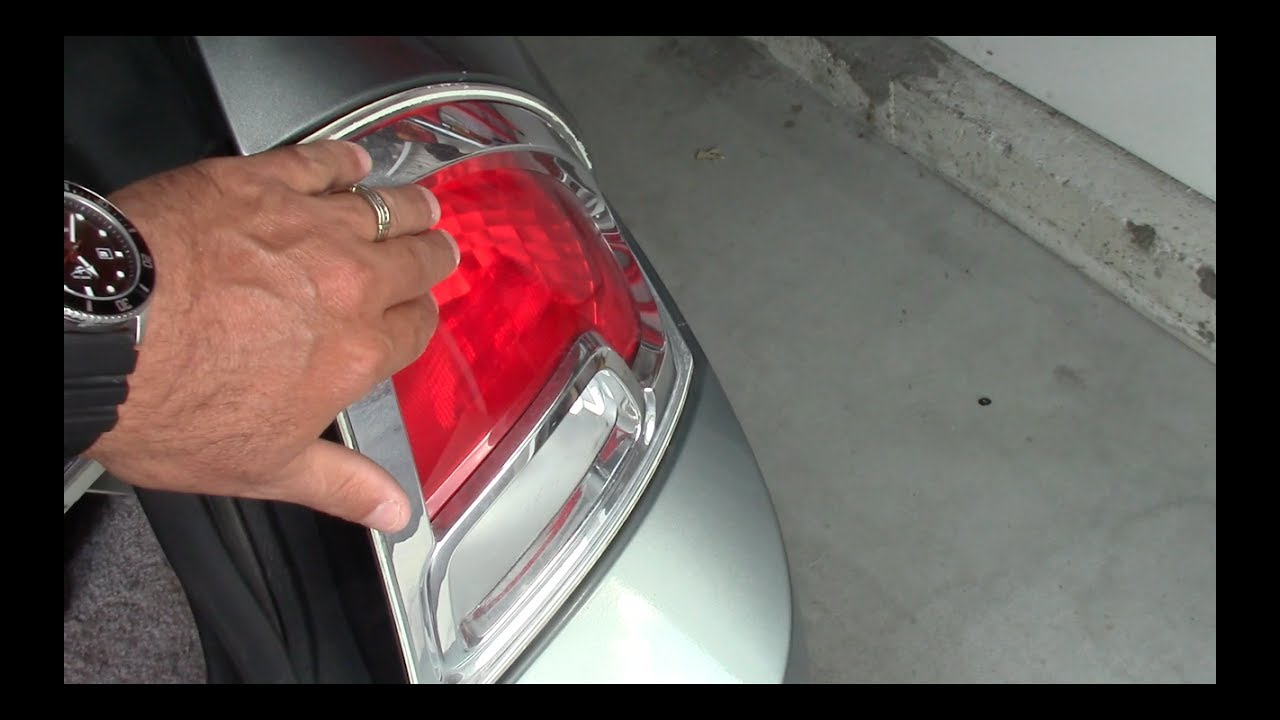 Ford Fusion Rear Light Replacement Or Bulb