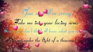 Thinking Out Loud & I'm Not The Only One - Lyrics