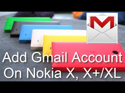 Add Gmail Account To Nokia X, X+ (X Plus) or XL In Less Than 2 Minutes