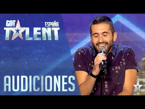 The man of a thousand voices | Auditions 3 | Spain's Got Talent 2016