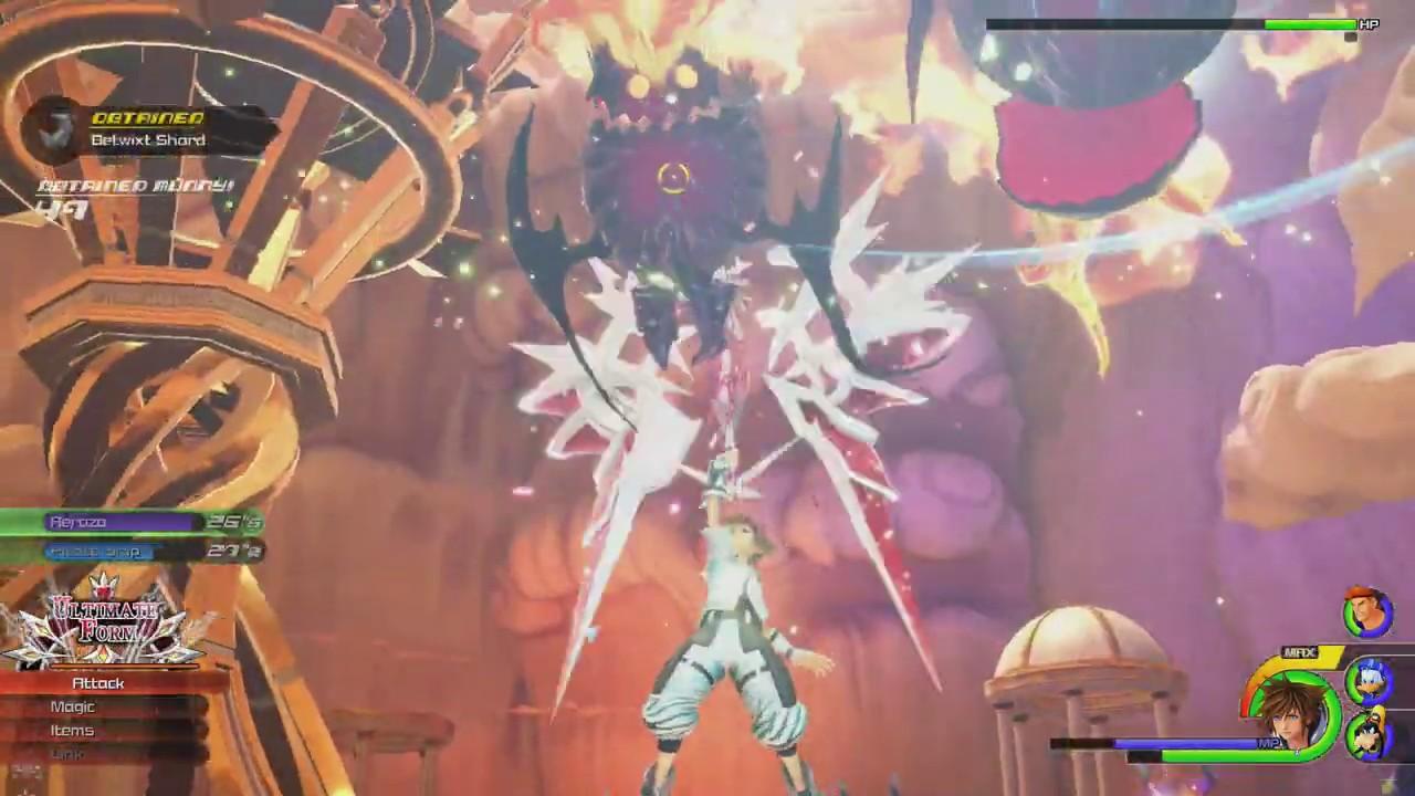 Kingdom Hearts Iii Fast Exp Farm For Level 99 Youtube