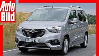 Opel Combo (2018) Erste Fahrt / Test / Review