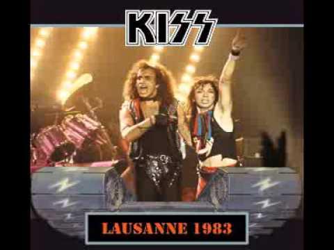 KISS - RARE BOOTLEG - LAUSANNE 1983
