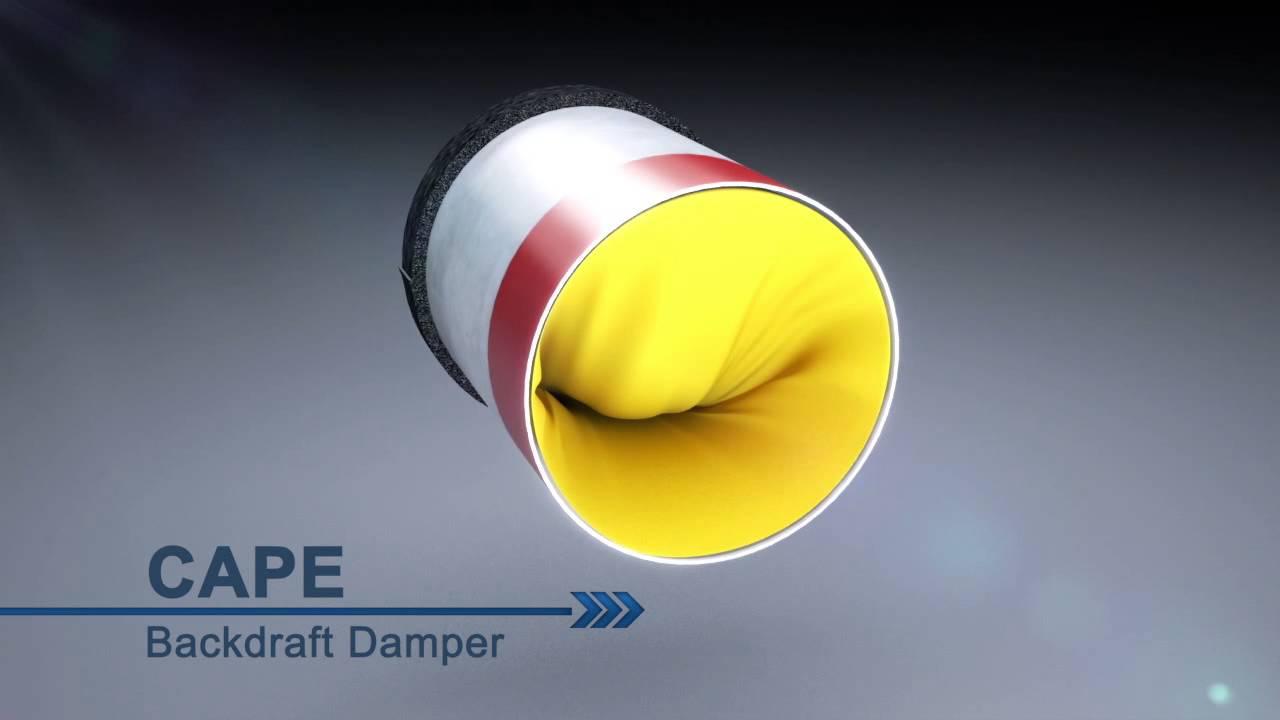 Tamarack Technologies Cape Backdraft Damper Youtube