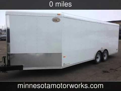 2013 RC Car Hauler Enclosed 25' Trailer - Minnesota Motorworks