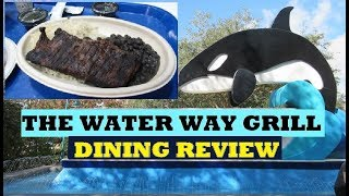 The Waterway Grill At Sea World - Theme  Park Dining Review