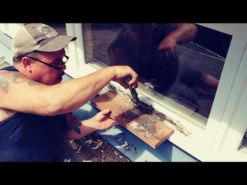 How to fix a rotted window