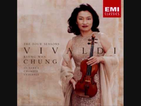 Kyung Wha Chung - Vivaldi's The Four Seasons Winter 1. Allegro Non Molto